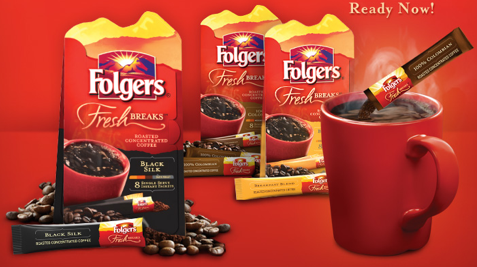 Free Folgers Fresh Breaks Coffee Set a New World Record with Folgers