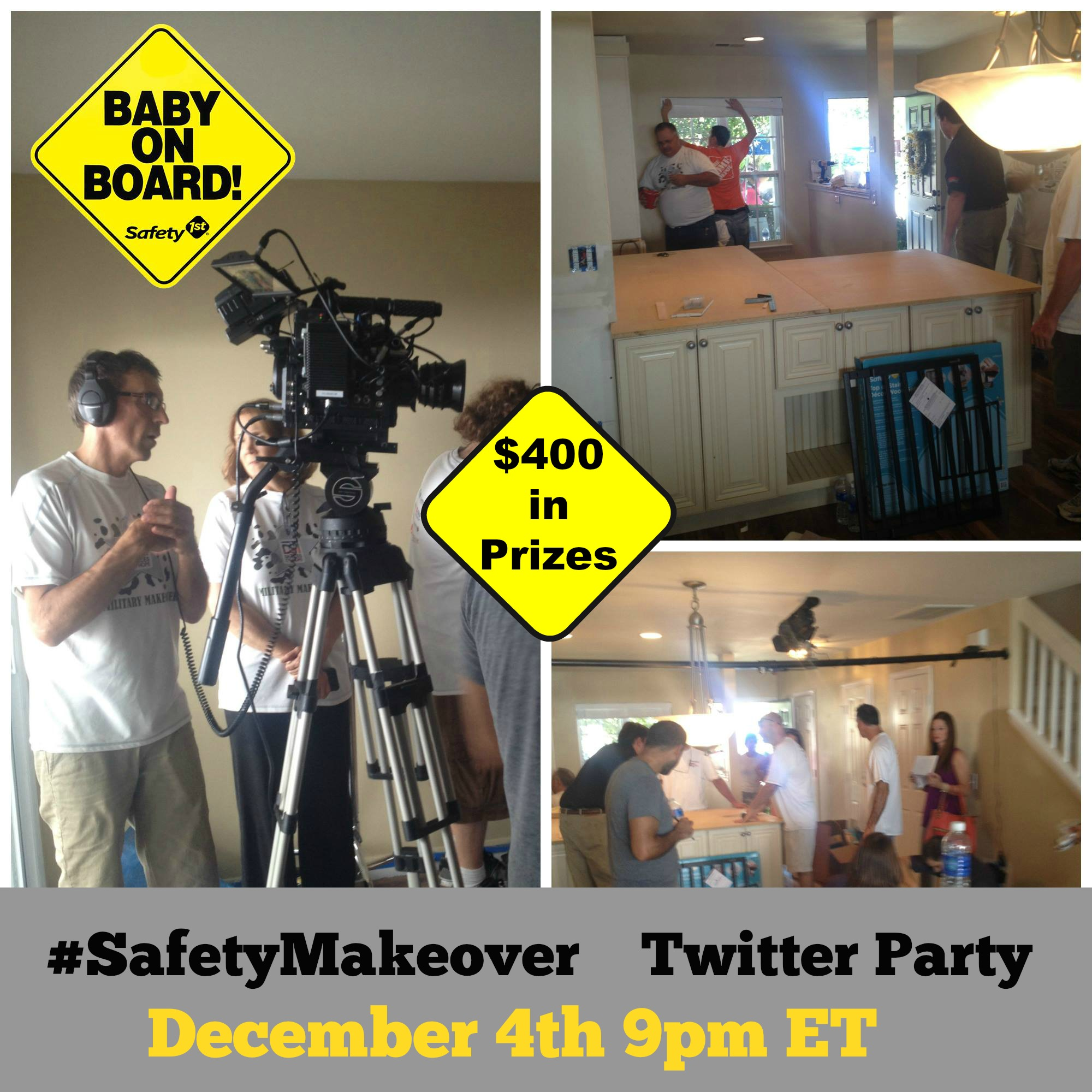 10551588 10152632214419354 4091933034794063923 o 1 Military Makeover Safety 1st Twitter Party!