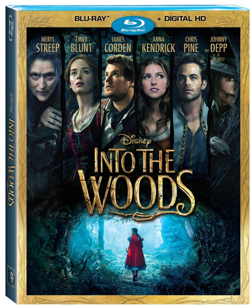 Into The Woods Bluray