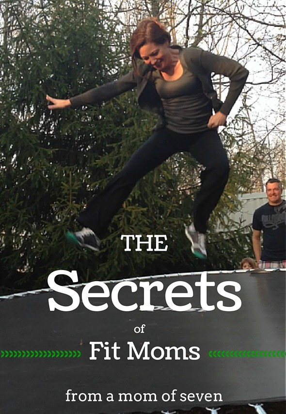 These five secrets of fit moms can help you get fit for good. From a mom of seven  at The Happy Housewife.