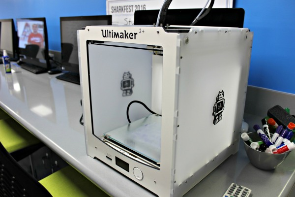 3-D Printer in the Entrepreneurship Lab