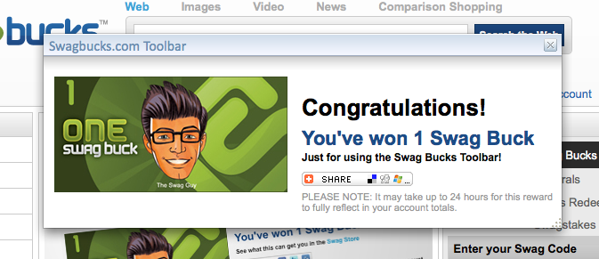 swagbucks toolbar