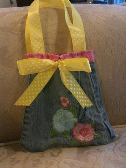 How To Make A Purse From Jeans The Happy Housewife Home Management
