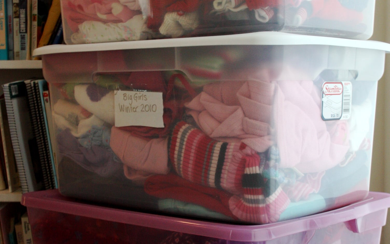 I ... & Kidsu0027 Clothing Storage - The Happy Housewife™ :: Home Management