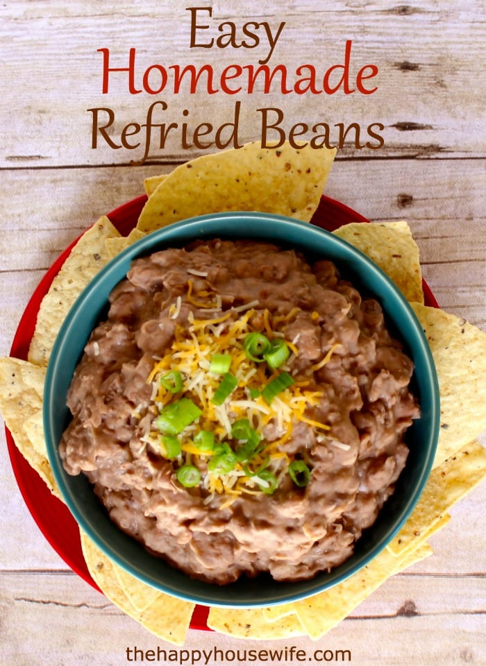 easy homemade refried beans