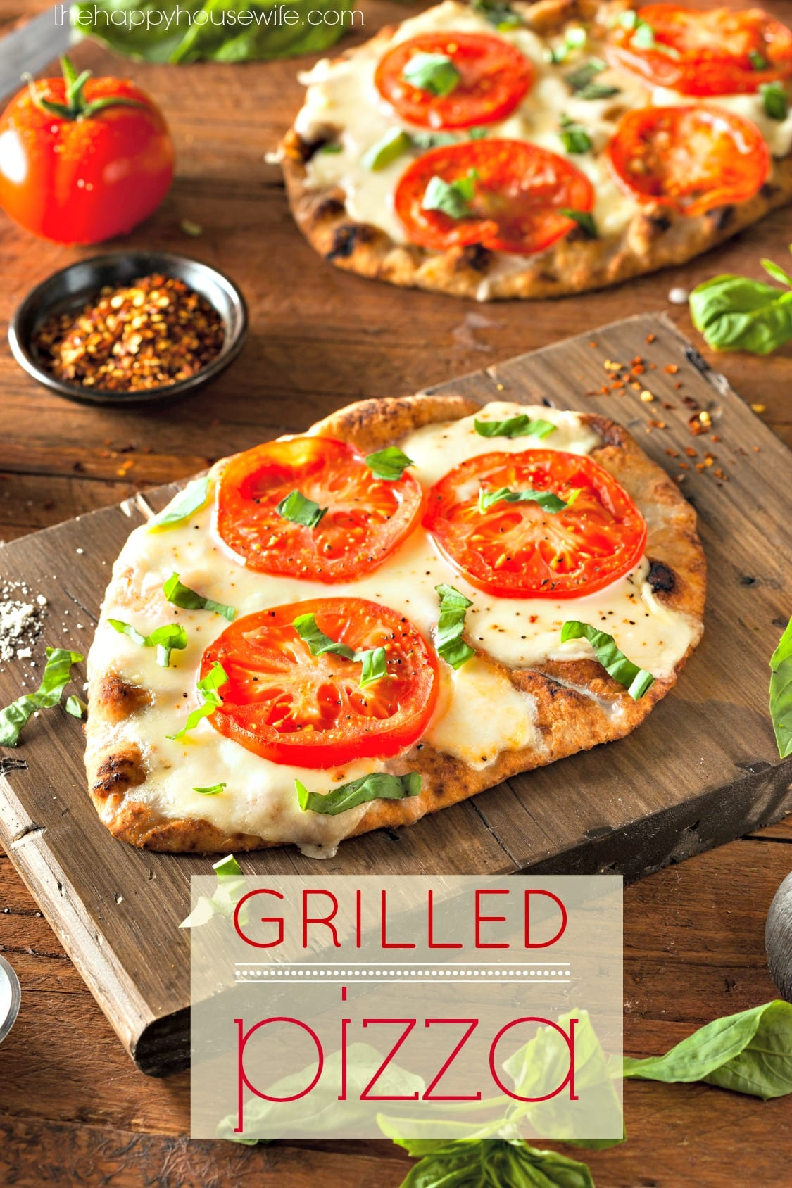 grilled pizza the happy housewife cooking. Black Bedroom Furniture Sets. Home Design Ideas
