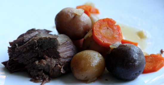 Crock Pot Recipe: Roast at The Happy Housewife