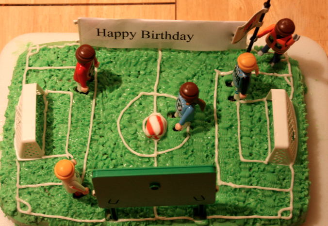 Soccer Birthday Cake The Happy Housewife Cooking