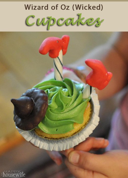 Wizard of Oz (Wicked) Cupcakes