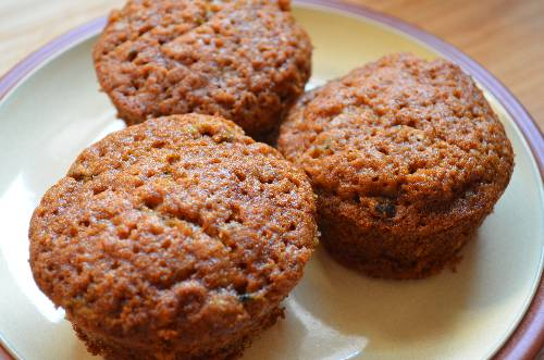 Zucchini Muffins | The Happy Housewife
