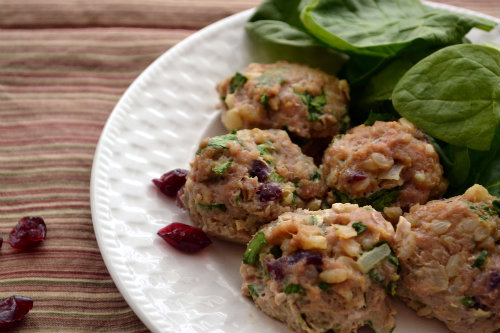 Turkey Porcupine Meatballs at The Happy Housewife