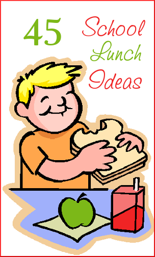 45 School Lunch Ideas | The Happy Housewife