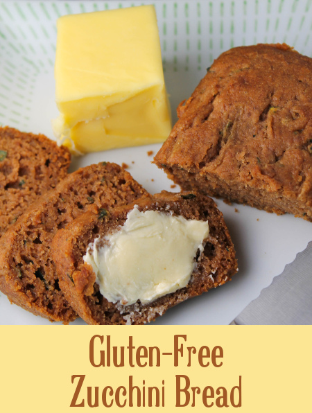Gluten-Free Zucchini Bread at The Happy Housewife