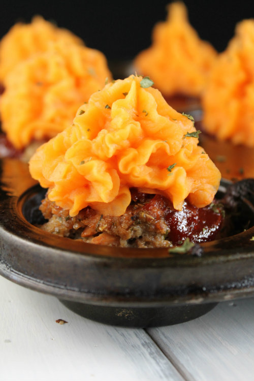 Meatloaf Cupcakes Paleo And Egg Free Options The Happy