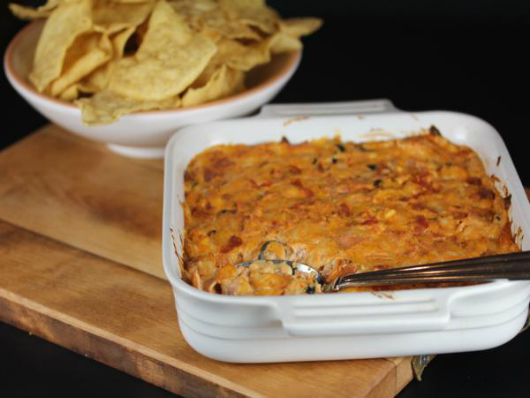 Game Day Recipes - Pizza Dip