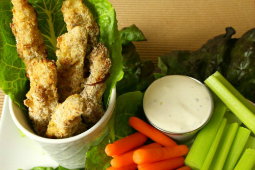 Game Day Recipes - Baked Chicken Fries