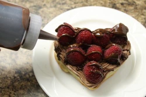 Quick and Easy Chocolate Mousse Dessert for Two at The Happy Housewife