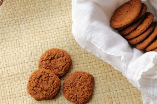 These soft and chewy ginger cookies have just the right amount of spice. At The Happy Housewife