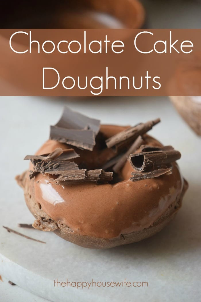 Who doesn't love chocolate and doughnuts? These Chocolate Cake Doughnuts are a perfect combination of the two well loved foods. They would be a great treat to make for your family.