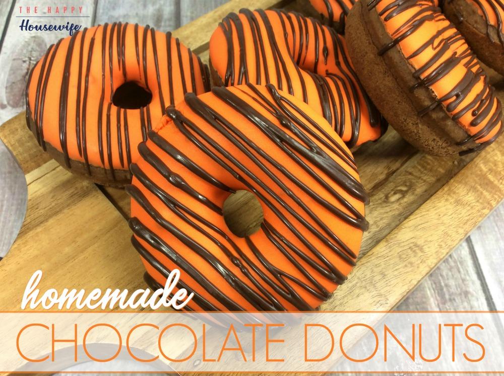 Chocolate Donuts Recipe