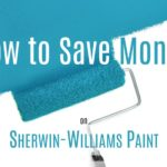 how to save money on sherwin williams paint