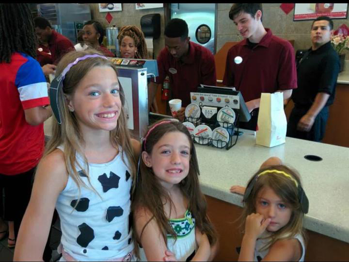 Dress Up Like a Cow for FREE Chick Fil A