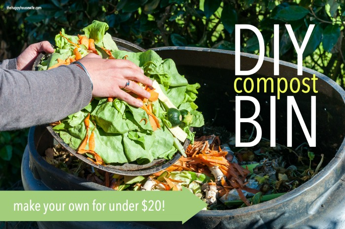 DIY Compost Bin - The Happy Housewife™ :: Frugal Living
