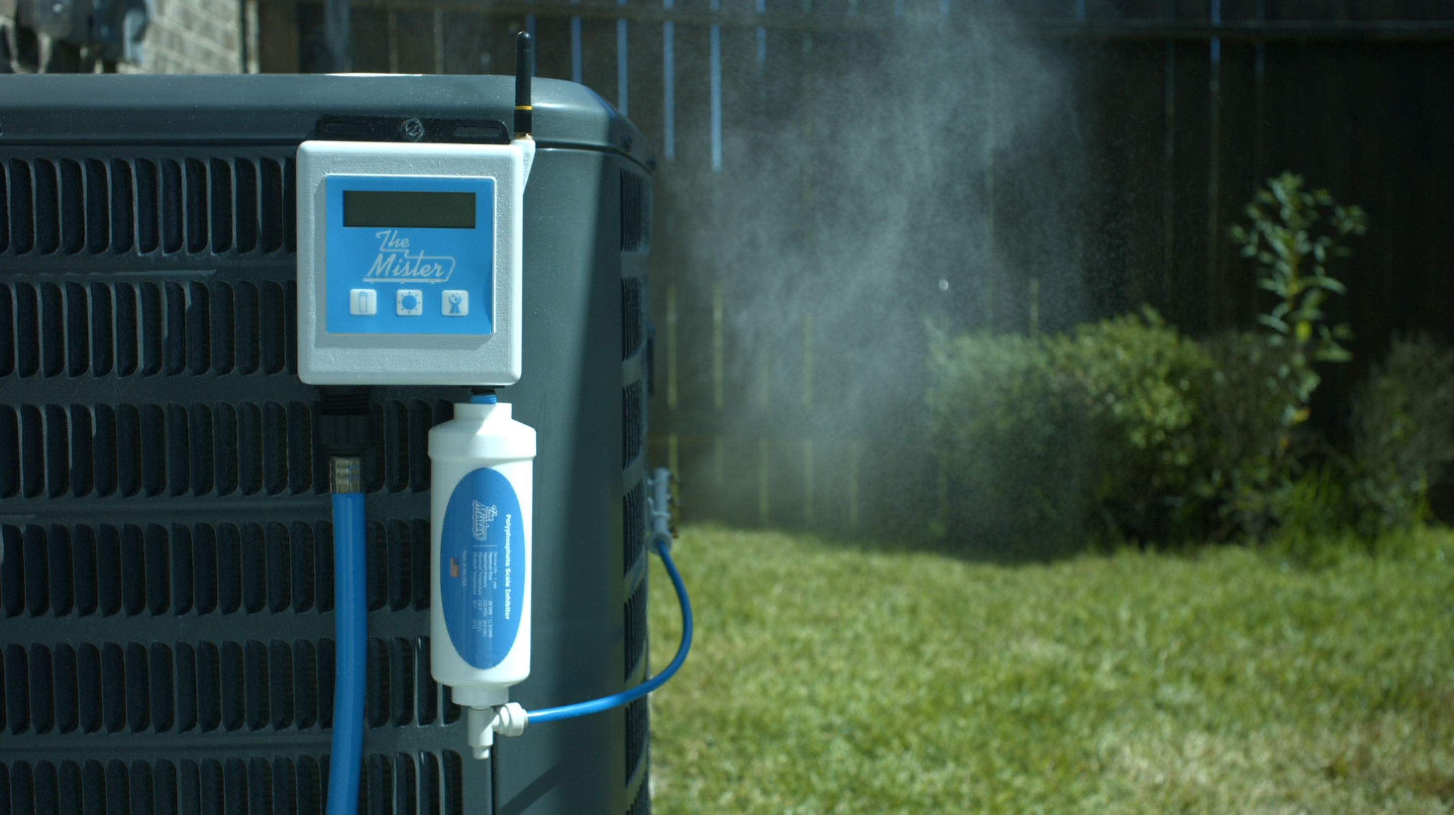Ac Misting System : The mister save up to on your a c bill happy