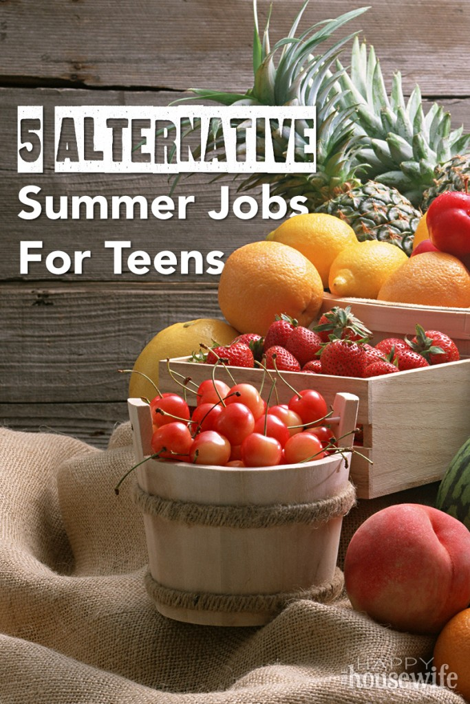 5 alternative summer jobs for teens