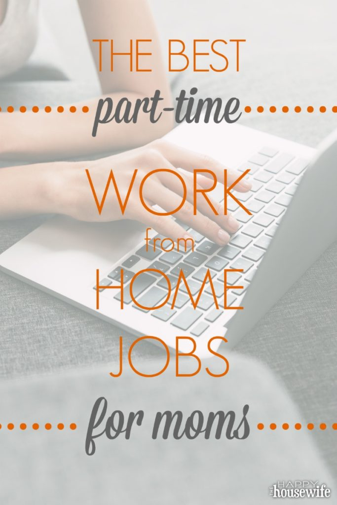 Legitimate at home jobs for moms