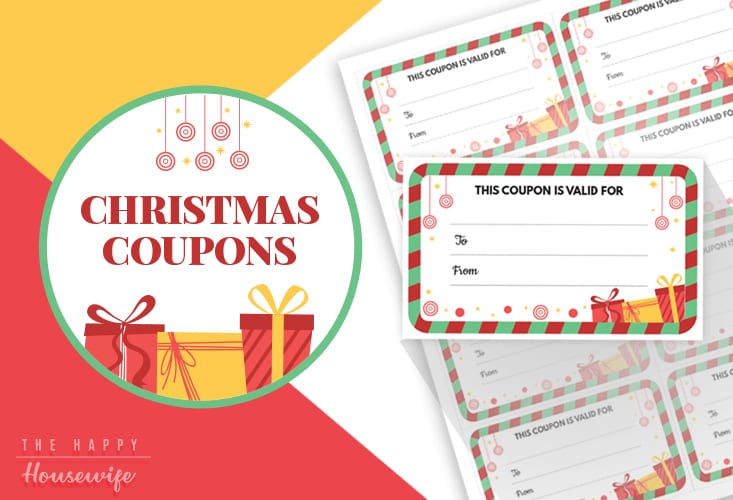 Printable Christmas Coupons for Stocking Stuffers