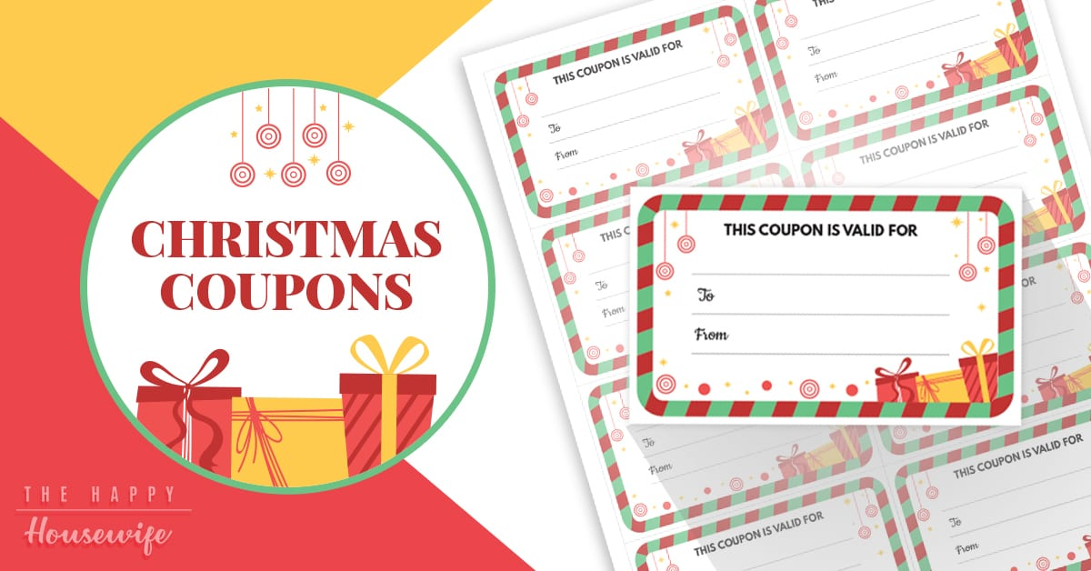 Christmas Coupons Free Printable The Happy Housewife Frugal