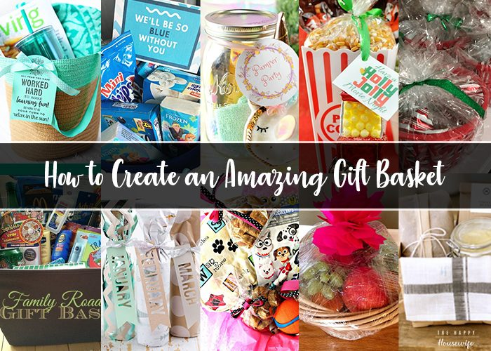 How to create a gift basket