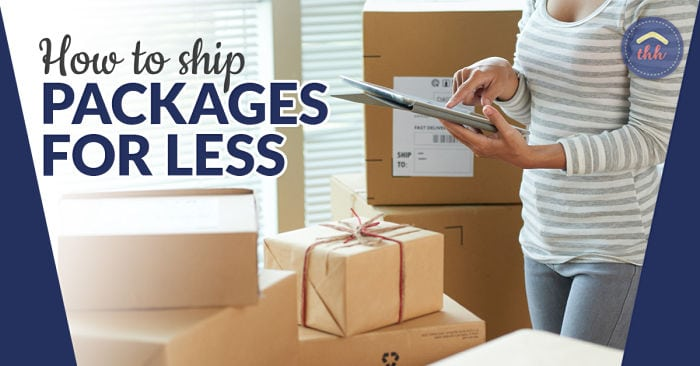 how to ship packages for less