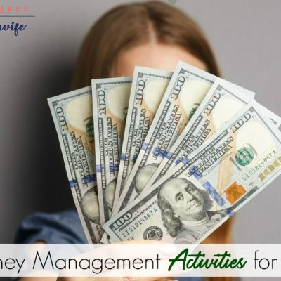 money management activities for kids