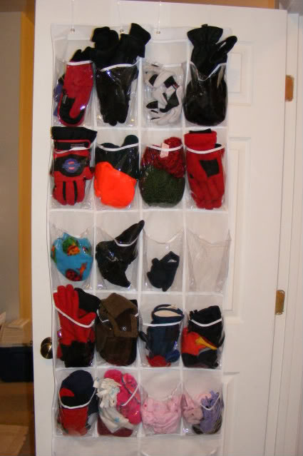 Mittens, Gloves, And Hat Storage ~ Winter Gear Organization Made Simple! |  The