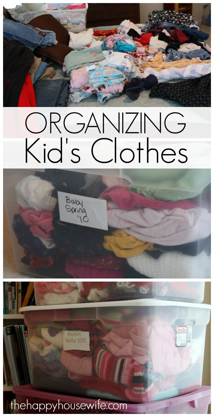 I use to dread the change of seasons because it meant swapping out clothes for several & Kidsu0027 Clothing Storage - The Happy Housewife™ :: Home Management