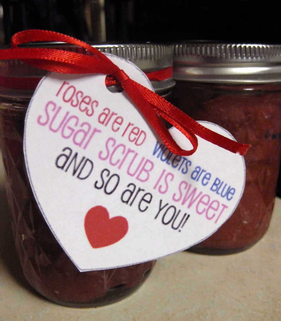sugar scrub jars