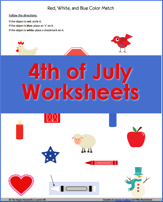 4th-of-July-Worksheets