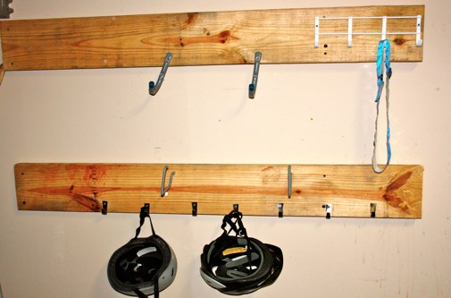 Easy Mounting Tip for Hooks - The Happy Housewife™ :: Home Management