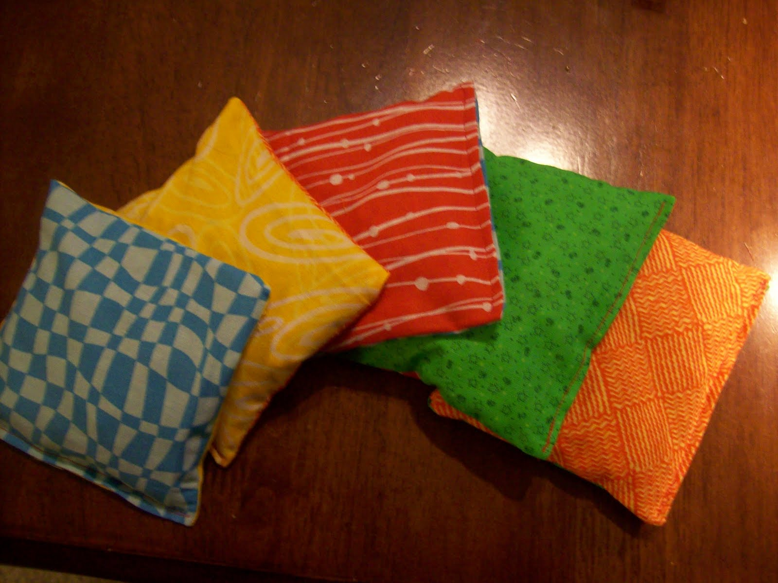 Mini Bean Bags - The Happy Housewife™ :: Home Management