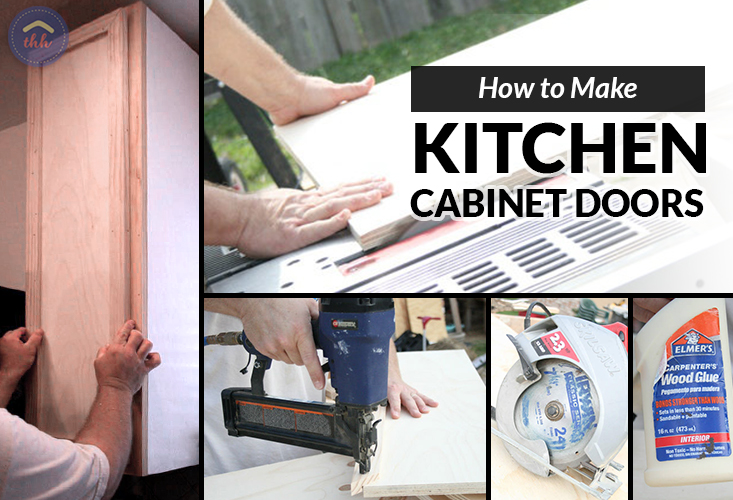 How To Make Kitchen Cabinet Doors The Hy Housewife Home
