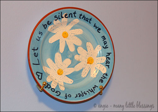 Decorative Quote Plate Project  sc 1 st  The Happy Housewife : cheap decorative plates - pezcame.com