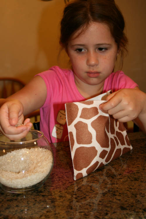 Homemade Heat Pad In Minutes With Kids The Happy