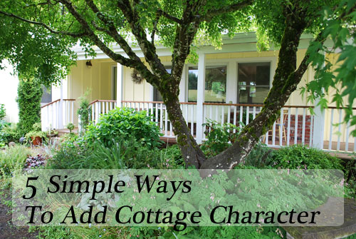 Image Result For Ways To Add Cottage Style Character To Your Home