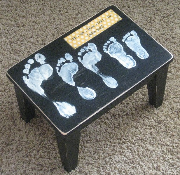 Custom step stool the happy housewife home management visit negle Choice Image