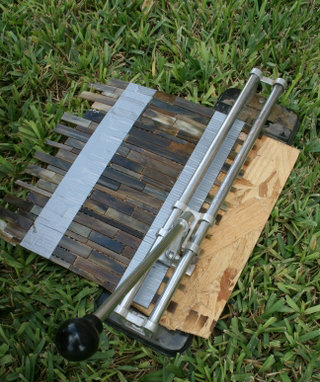 how to cut small tiles on tile saw