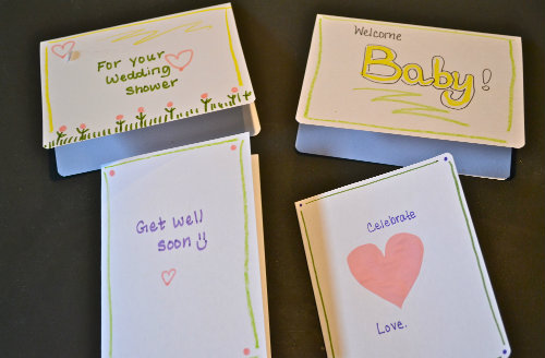 Diy card station the happy housewife home management you will want to make sure you store it in a place where your greeting cards will stay in good shape also you will want to keep your greeting card station m4hsunfo