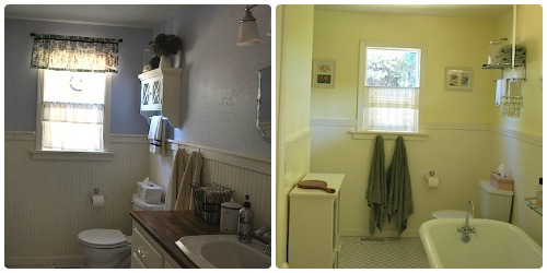 Charmant Cottage Bathrooms