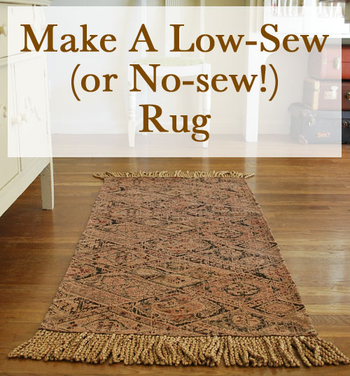 How To Make A Rug The Happy Housewife Home Management